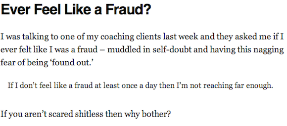 Andy Wibbels Fraud Quote