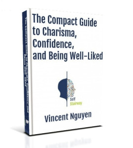 eBook Cover art for The Compact Guide to Charisma, Confidence, and Being Well-Liked